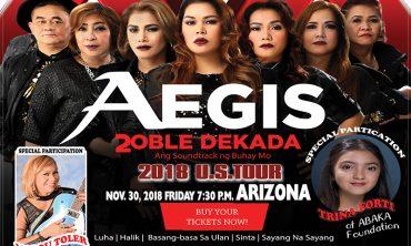 Aegis Live in Arizona Nov. 30, 2018